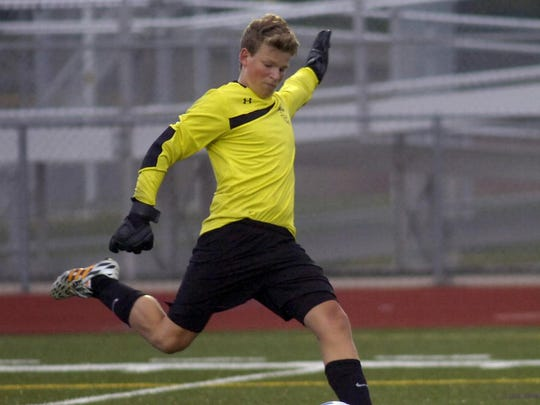 Junior goalkeeper Joey Kopmeyer did not allow a goal in Seaholm's first two games.