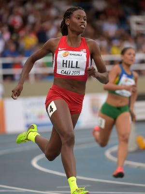 Candace Hill will run the 100 and 200 at the U.S. Olympic trials.