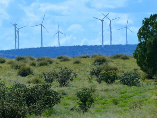 Many wind turbines already are operating just north