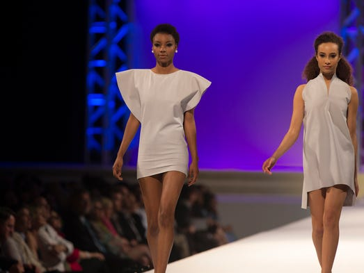 Macy's sponsors the University of Cincinnati's College of Design, Architecture, Art and Planning's (DAAP) annual fashion show to get a close look at emerging young talent. See some of the designs featured in the show in this gallery.