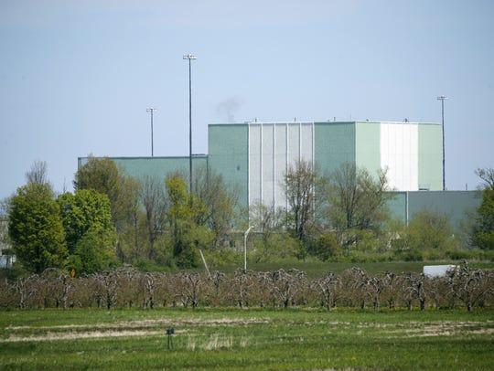 Ginna nuclear power plant in Ontario, Wayne County.