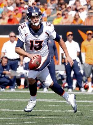 Broncos quarterback Trevor Siemian had his best day as a pro in Week 3 against the Cincinnati Bengals.