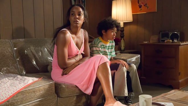 "Guest stars Kelly Rowland (Leah) and Shannon Brown (Lucious) in the ""True Love Never"" episode of 'Empire.'"