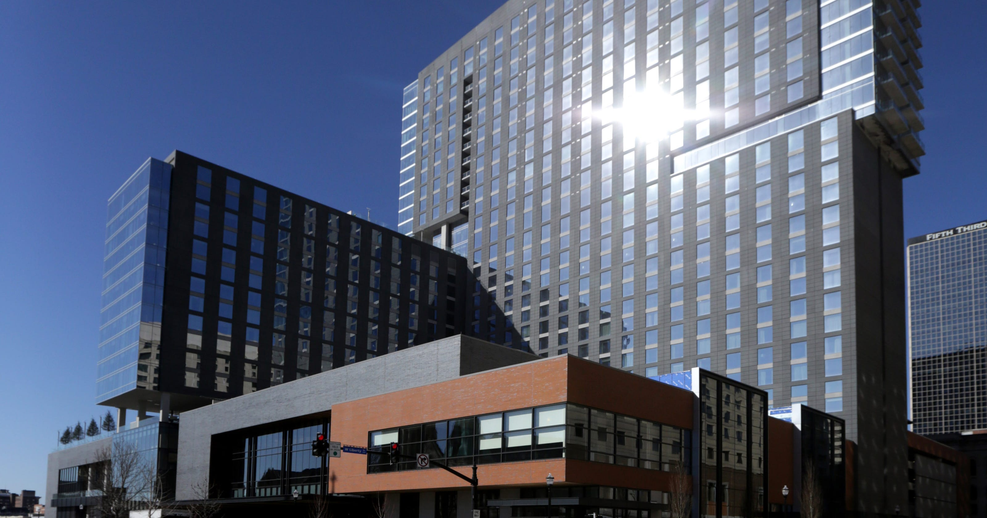 Downtown Louisville continues to change with the Omni Hotel