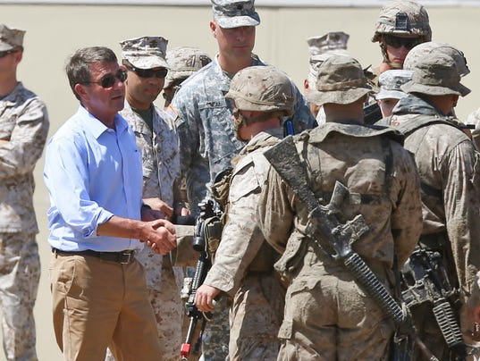 AP SECRETARY ASHTON CARTER A USA CA
