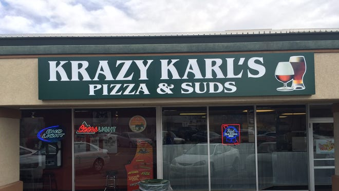 The exterior of the original Krazy Karl's Pizza near the Colorado State Campus. The pizzeria recently announced plans to open a second location.