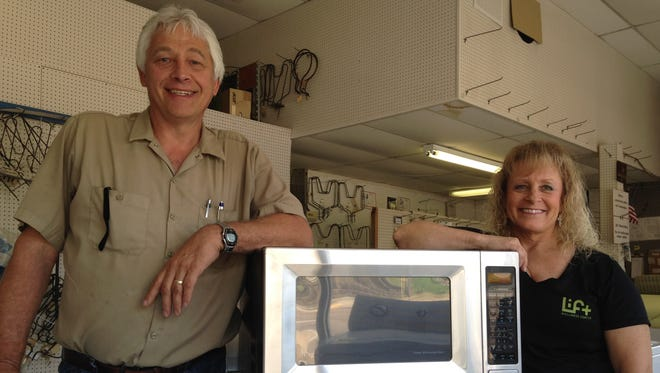 Danny and Meg Hargett own Bill's Appliance at 328 N. Highland Ave. The business was founded by Danny's father, Bill Hargett in 1957.