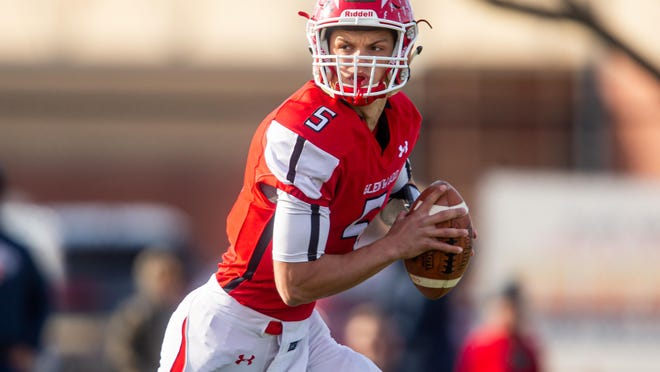 Chatham Glenwood High School's Luke Lehnen is The State Journal-Register's Male Athlete of the Year and Large School Football Player of the Year.