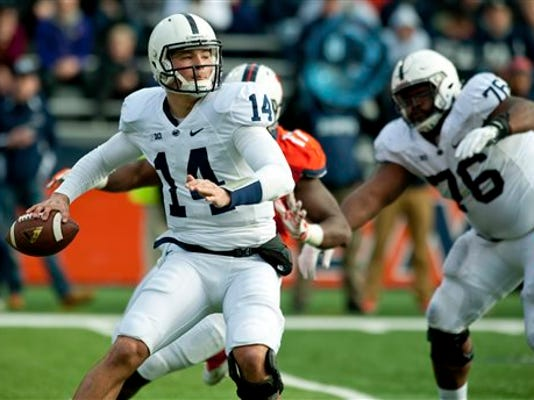 Quarterback Christian Hackenberg and his Penn State football teammates have not only survived severe NCAA sanctions, they've thrived in many ways. The Nittany Lions have put together three winning seasons despite the penalties.