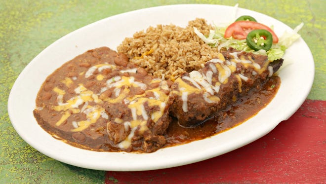 The carne adovada country style pork rib from from Los Dos Molinos in Phoenix.