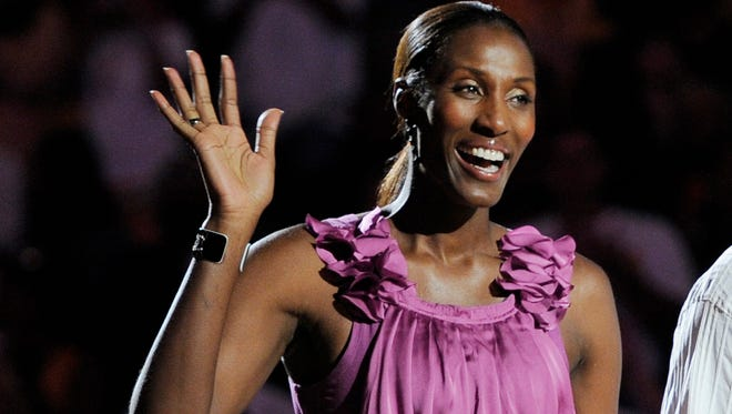 Retired Los Angeles Sparks basketball player Lisa Leslie.