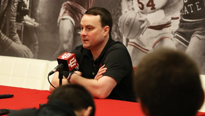 New IU coach Archie Miller spoke with reporters earlier this week.
