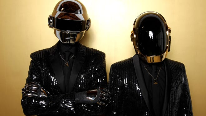 Thomas Bangalter, left, and Guy-Manuel de Homem-Christo, from the group Daft Punk  will perform at the Grammy Awards show on Jan. 26 on CBS.