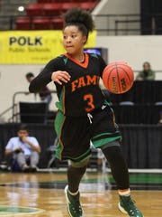 FAMU DRS junior LaKrista Walker scored 10 points in the Rattlers' 46-37 win over Carrollwood to claim a 3A state title.