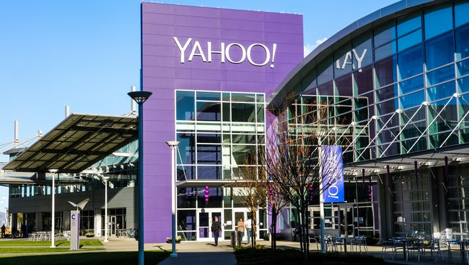 Yahoo's campus in Sunnyvale, Calif.