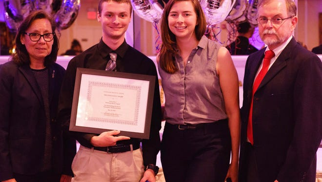 Nick Grieco, a high school senior, has been part of the Watchung Rescue Squad since 2015. He was honored by Overlook Medical Center on May 24