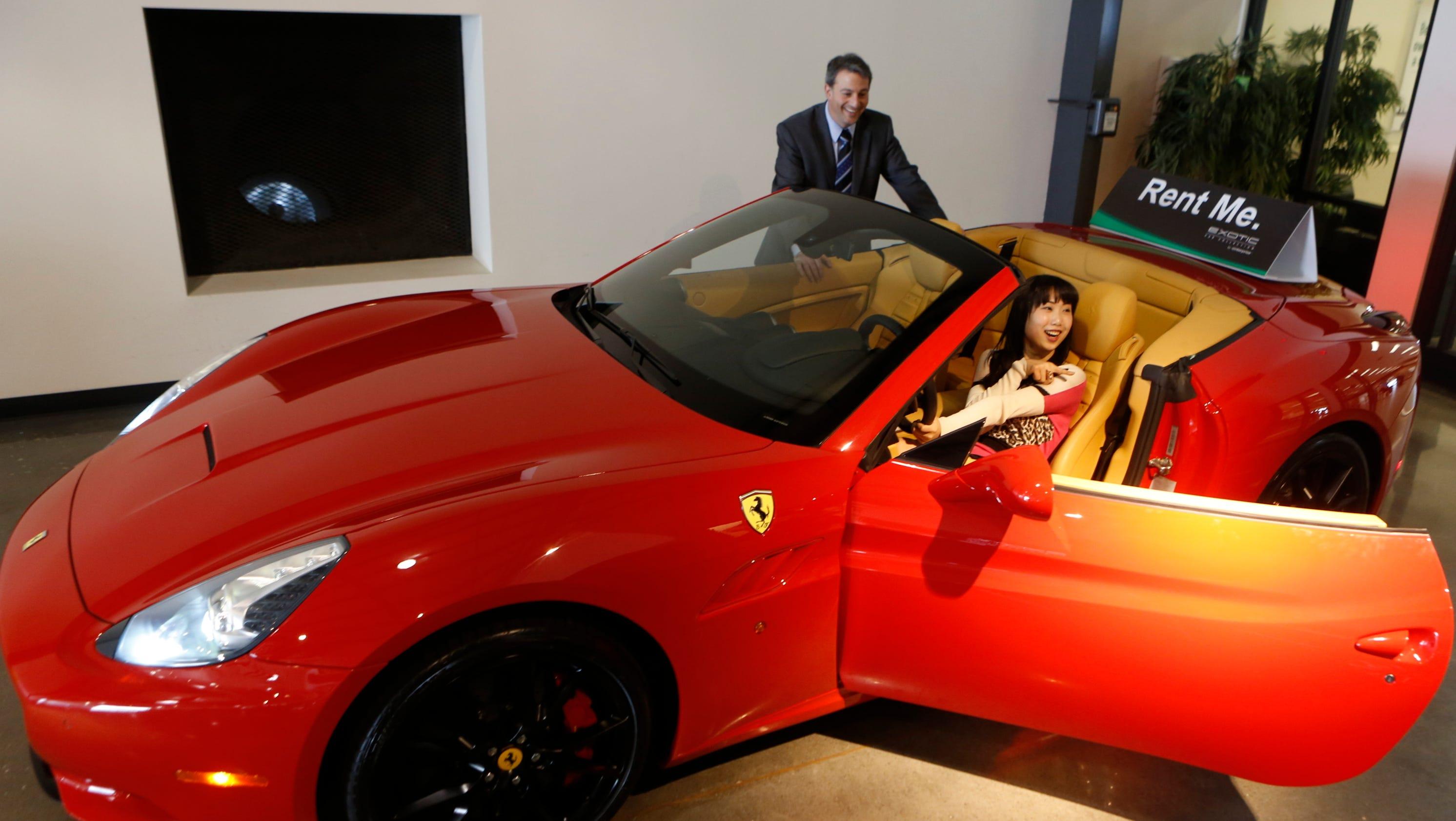 Ferrari California T >> Enterprise rents exotic sports cars