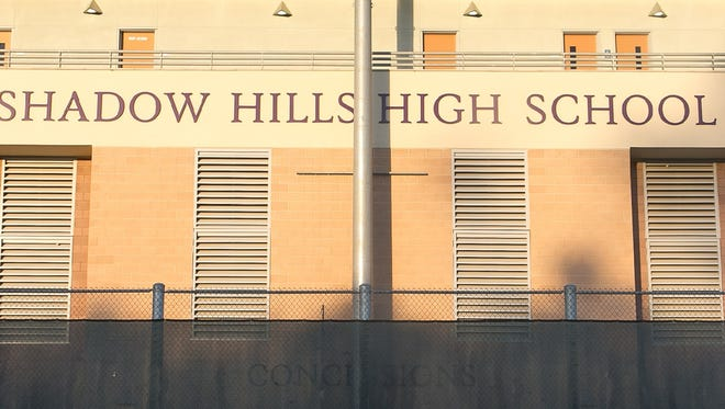 Students at Shadow Hills High School began chanting an obscenity about Donald Trump during an assembly on April 29, 2016.