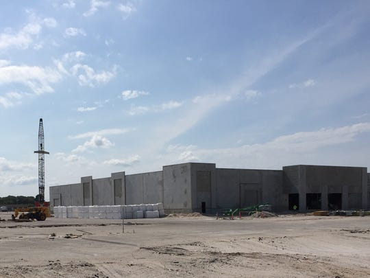 Hobby Lobby store taking shape at Titus Landing in Titusville