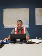 Sarah Perkins of Pittsford is among five Red Cross volunteers from the Rochester area aiding flood-ravaged Texas.