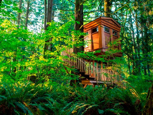 10 Magical Treehouses Where You Can Stay Play Or Pray