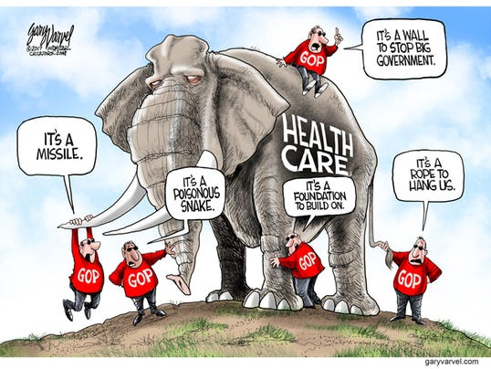 Cartoonist Gary Varvel Differing Opinions Of Health Care