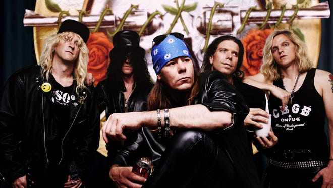 Guns N' Roses tribute band Guns 4 Roses will play at 9 p.m. tonight at the Iron Horse Pub. The opening act will be Walk This Way, an Aerosmith tribute.