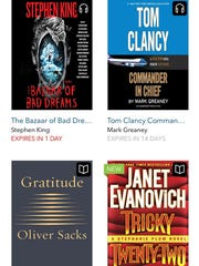 Borrow books and audiobooks for free from your local library with OverDrive.