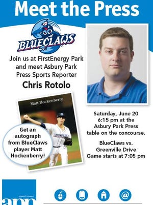 Come Meet the Press at FirstEnergy Park.
