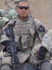 U.S. Army Specialist Justin Garcia of Valley Cottage was killed in Iraq on Nov. 14, 2006.