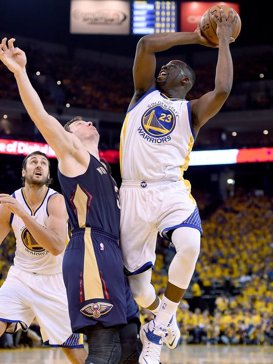 New Orleans Pelicans v Golden State Warriors - Game One