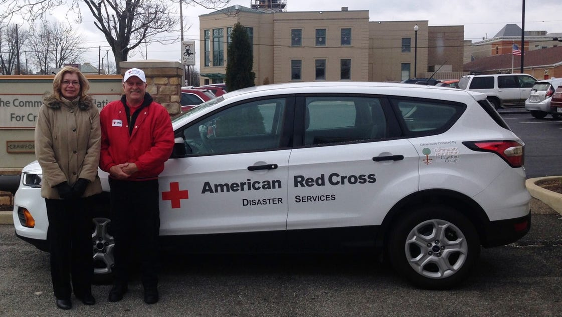 Donley Ford Galion >> Community Foundation provides Red Cross vehicle