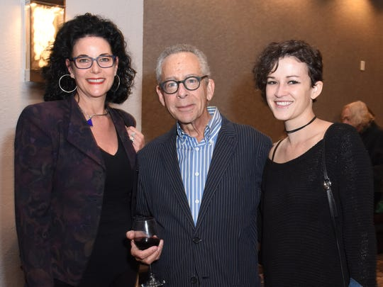 PSIFF staff members (l-r) programmer Hebe Tabachnik, lead programmer David Ansen, and senior guest relations manager Sarah Poppitz