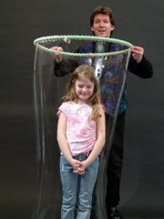 Geoff Akins' world famous Bubble Wonders show will be presented as part of United Way of Portage County's second annual Portage County Pajama Party on June 15, 2016 at the Sentry Theater.