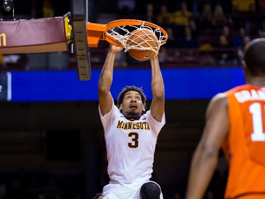 NCAA Basketball: Clemson at Minnesota