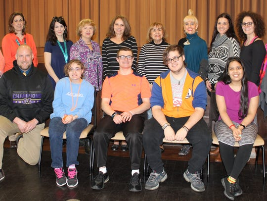 Participants in the Monroe Township High School TAP