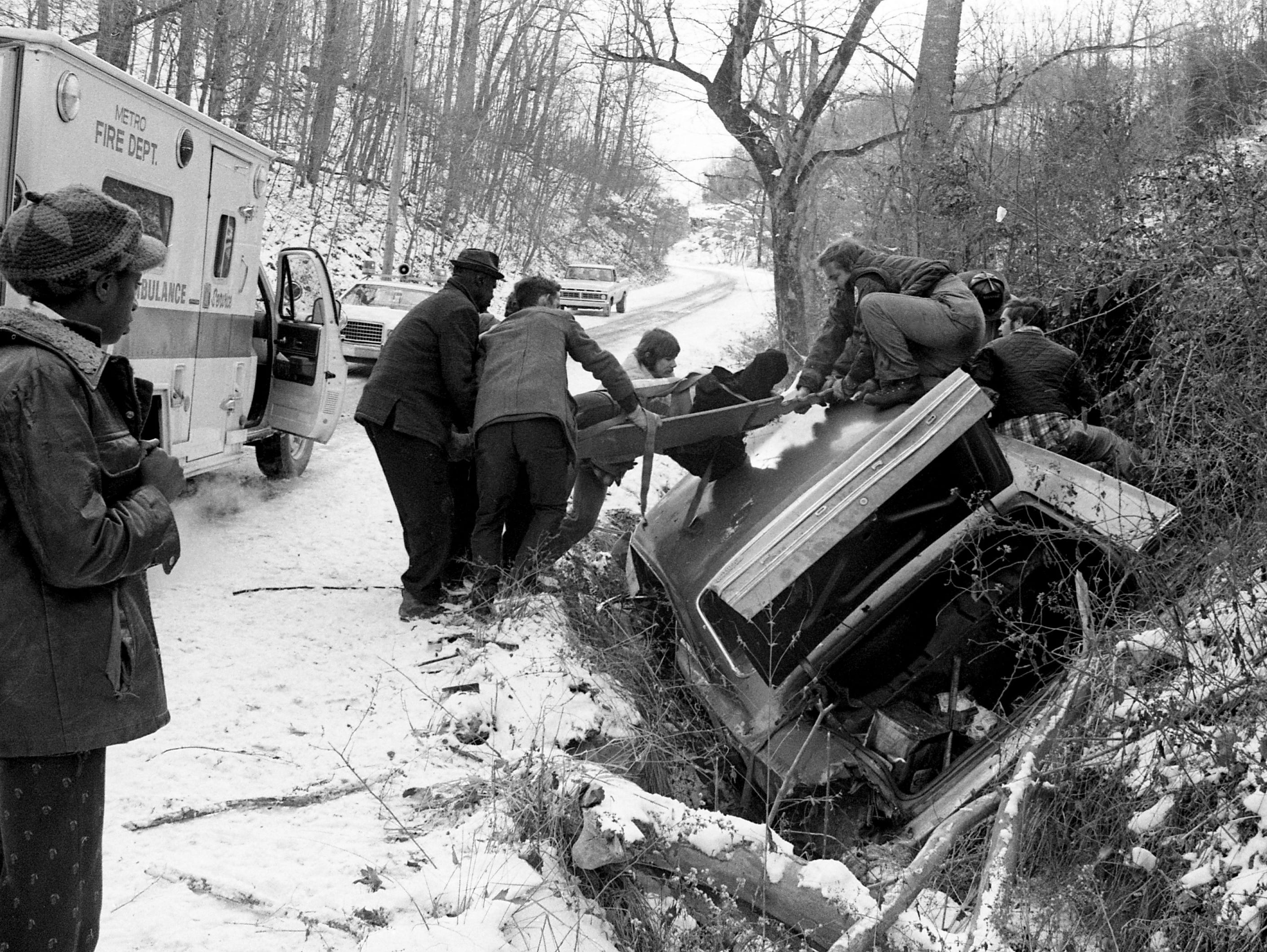 Take a look back at Nashville history with a gallery revisiting a record-setting winter storm in January 1977. TheNashville low temperature of 0 degrees broke the previous record to 2 degrees set in 1928.