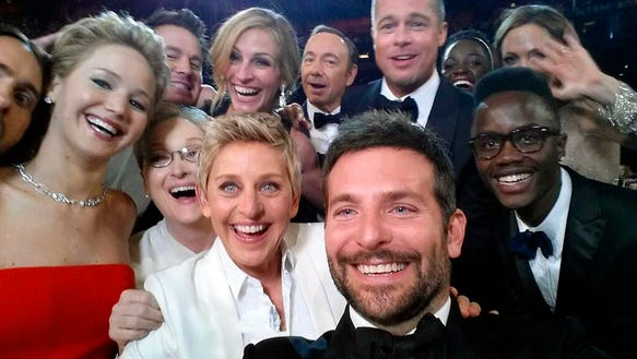 Who could forget Ellen's Oscars selfie?