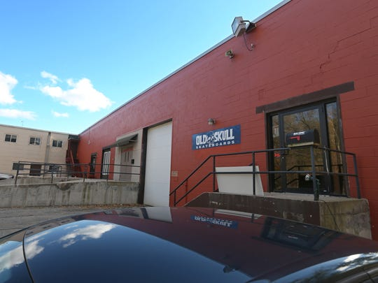 Old Skull Skateboards new location at the back of 2555 Baird Rd in Perinton Oct. 30, 2015.