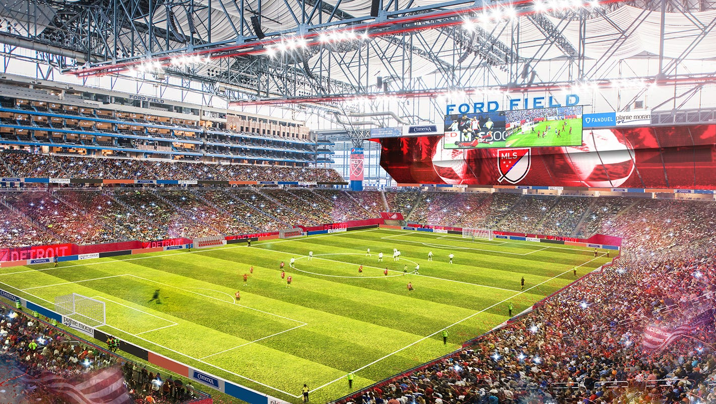 Detroit named a finalist for Major League Soccer expansion