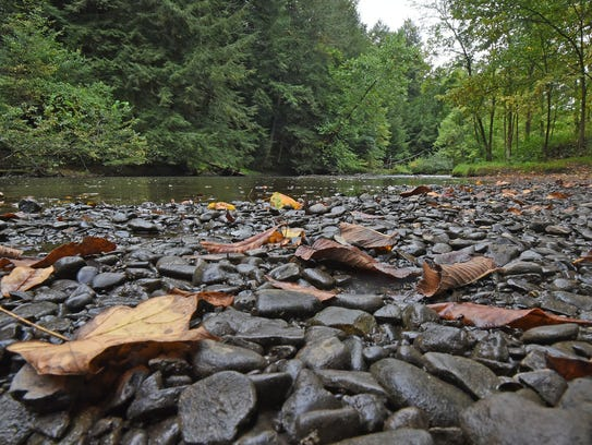 The Clear Fork Mohican River is one of the gems of