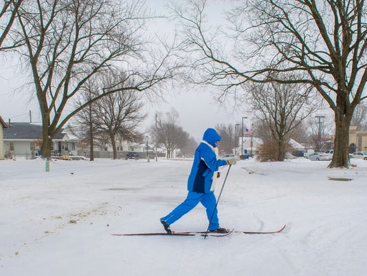 snow, Indianola, Warren County, holiday, lunch, warm, cold, storm, ski, scoop, blade,