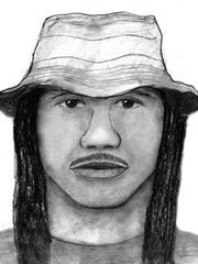 A composite sketch of the Baseline Killer released by Phoenix Police Department.