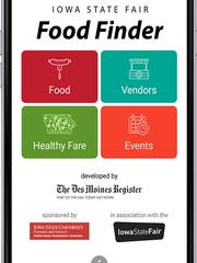 Download the Des Moines Register Iowa State Fair Food Finder Android app.