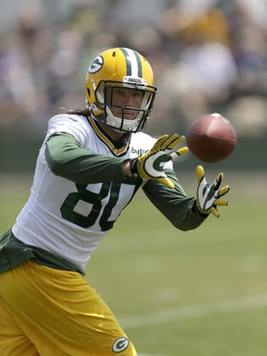 Packers tight end Justin Perillo