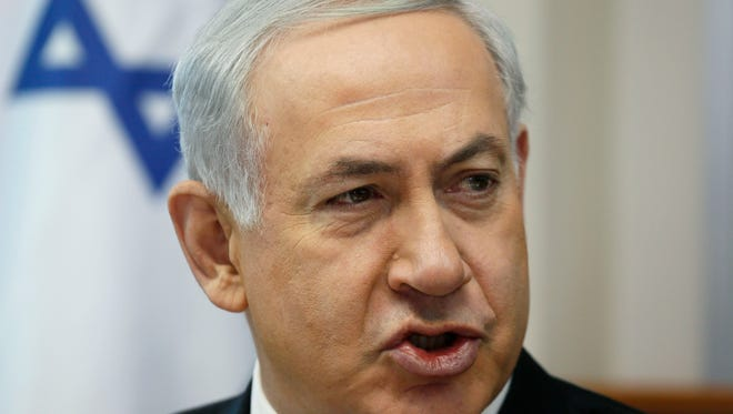 Israeli Prime Minister Benjamin Netanyahu will discuss the breakdown of peace negotiations with the Palestinians.