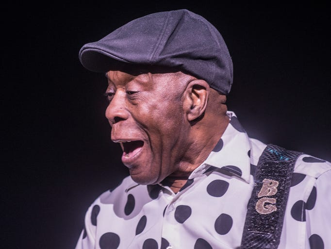 Blues guitar legend Buddy Guy, 81, performed at Montgomery