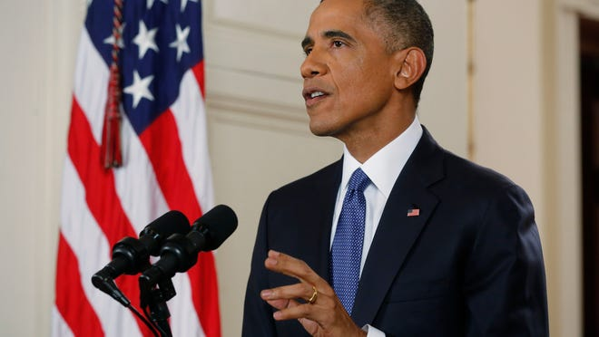 President Barack Obama announces executive actions on immigration.