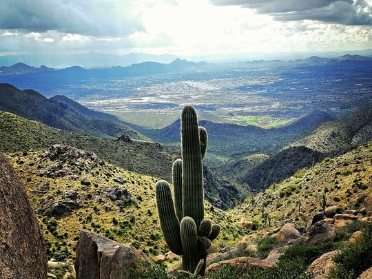 The Tom's Thumb Trail in Scottsdale's McDowell Sonoran