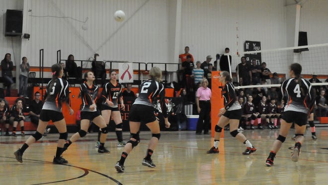 The Capitan lady Tigers lost to the visiting Tularosa Lady Wildcats Saturday.